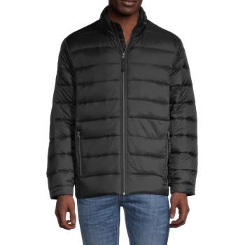 Quilted Down Puffer Jacket Saks Fifth Avenue