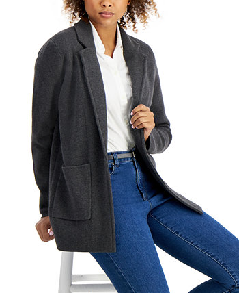 Open-Front Blazer, Created for Macy's Charter Club