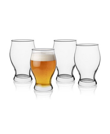 Personalized 5 Piece Barlow Beer Glass and Decanter Set Cathy's Concepts