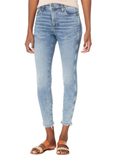 Connie High-Rise Fab AB Ankle Skinny in Bulbinella KUT from the Kloth