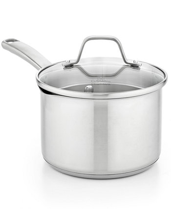Classic Stainless Steel 3.5 Qt. Covered Saucepan CALPHALON