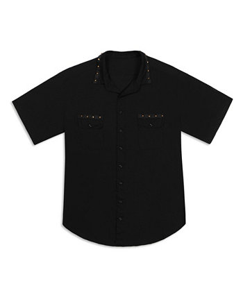 Men's Spike Trim Short Sleeve Shirt Mvp Collections By Mo Vaughn Productions