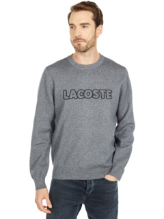 Long Sleeve Graphic Double Jersey Sweater Lacoste