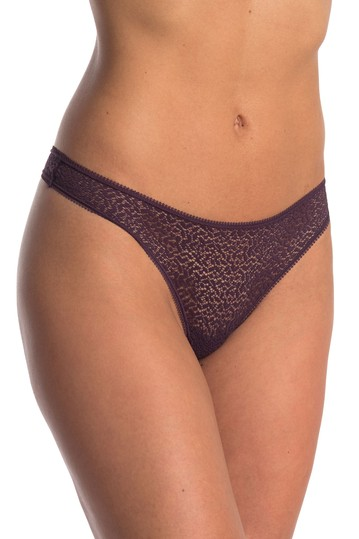 Geometric Lace Thong DKNY