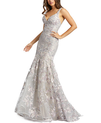 Beaded Embroidered Gown MAC DUGGAL