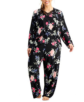 Women's Plus Size Miley Pajama Set Flora Nikrooz Collection