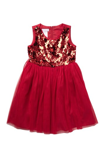 Sequin Sleeveless Dress (Big Girls) GERSON & GERSON