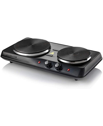Electric Double Burner with Adjustable Temperature Control OVENTE