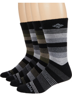 Stripe Wool Crew 4-Pack Columbia