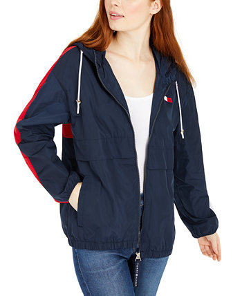 Logo Zip-Up Ветровка Tommy Hilfiger