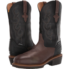 """12 """"Welted Western Work Boot - стальной носок и водонепроницаемый Lucchese"""