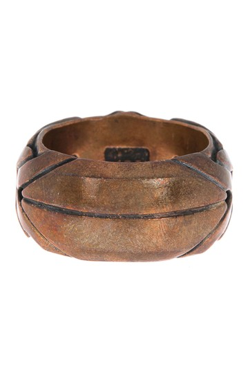 Woven Brass Ring - Size 12.75 John Varvatos Collection
