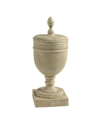 Chester Pedestal Vase with Lid AB Home