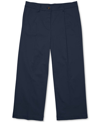 Women's Wide-Leg Chinos with Velcro® Closures Tommy Hilfiger