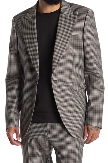 Блейзер в клетку General Notch Check REISS