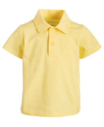 Toddler Boys Jersey Cotton Polo, Created for Macy's First Impressions