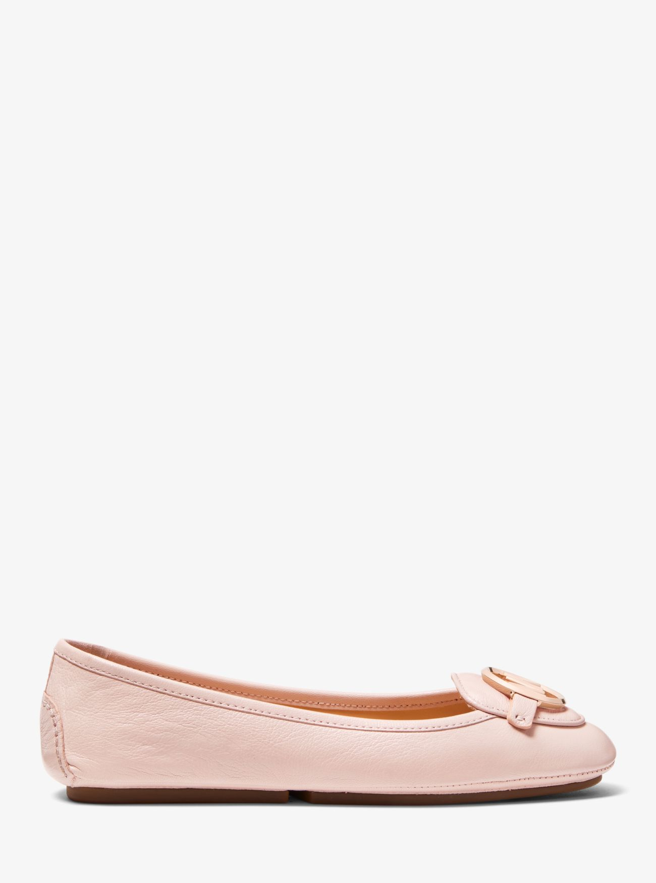 Lillie Leather Moccasin Michael Kors