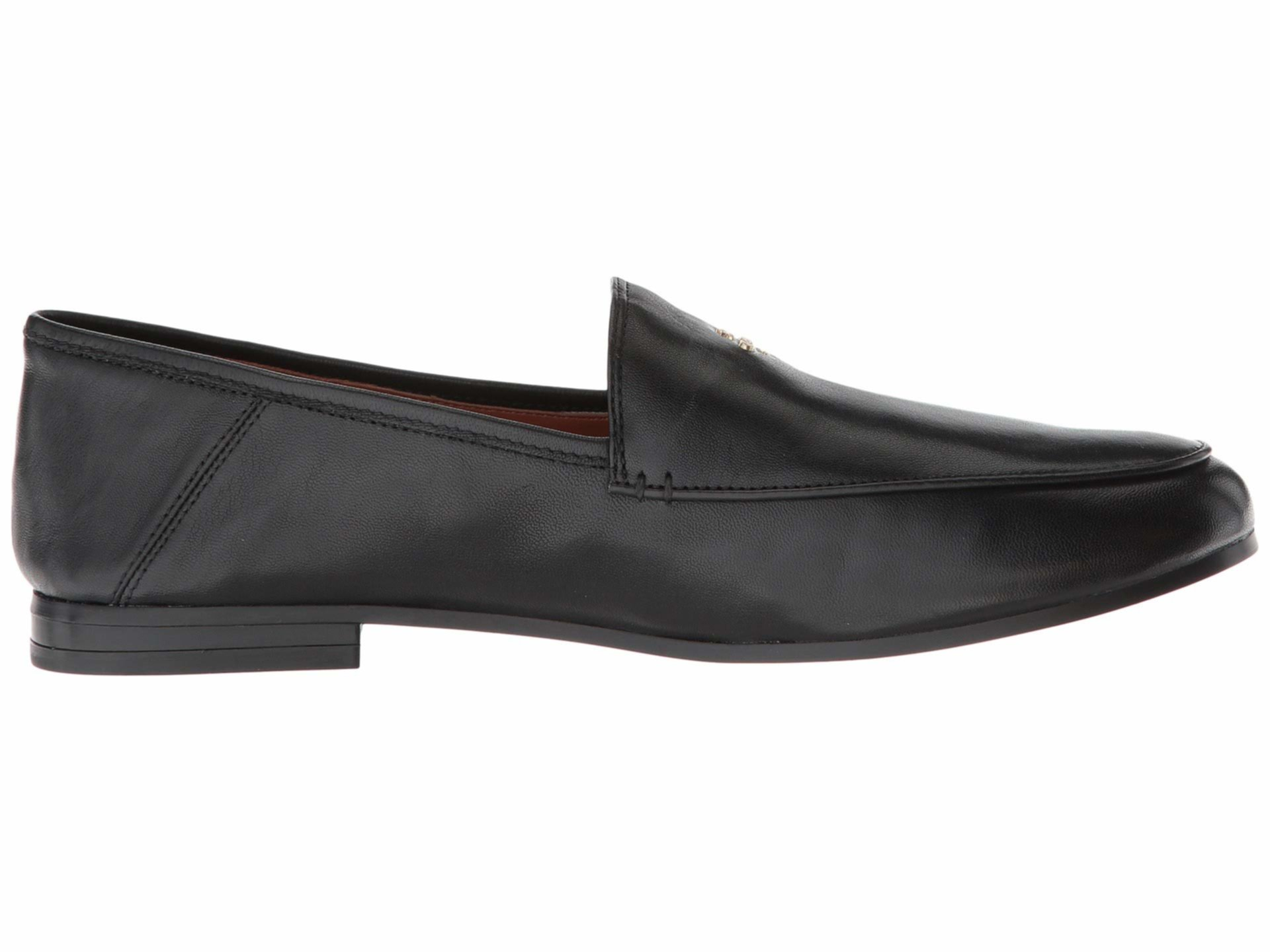 Hallie Leather Loafer COACH