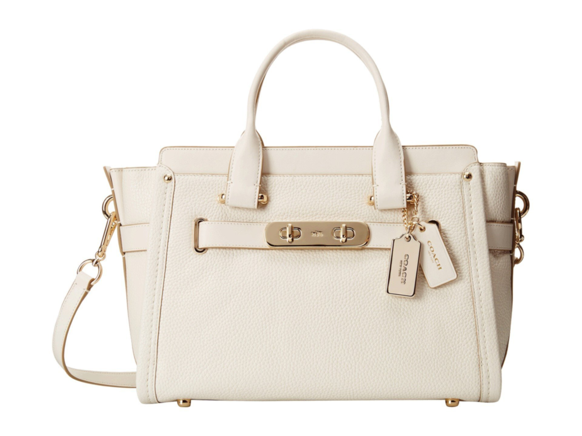 Pebbled Coach Swagger Carryall COACH