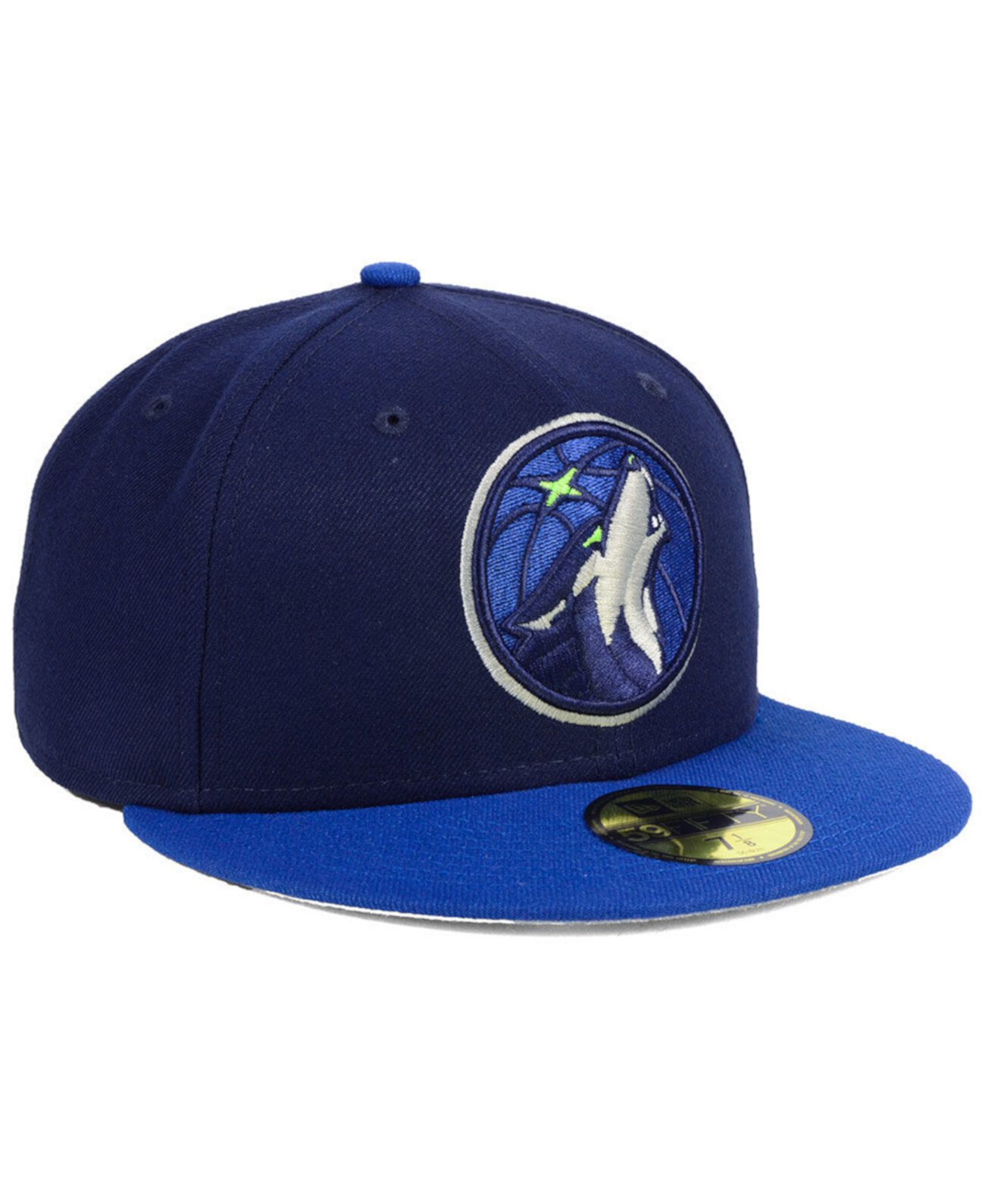 Minnesota Timberwolves Basic 2 Tone 59FIFTY Установленная кепка New Era