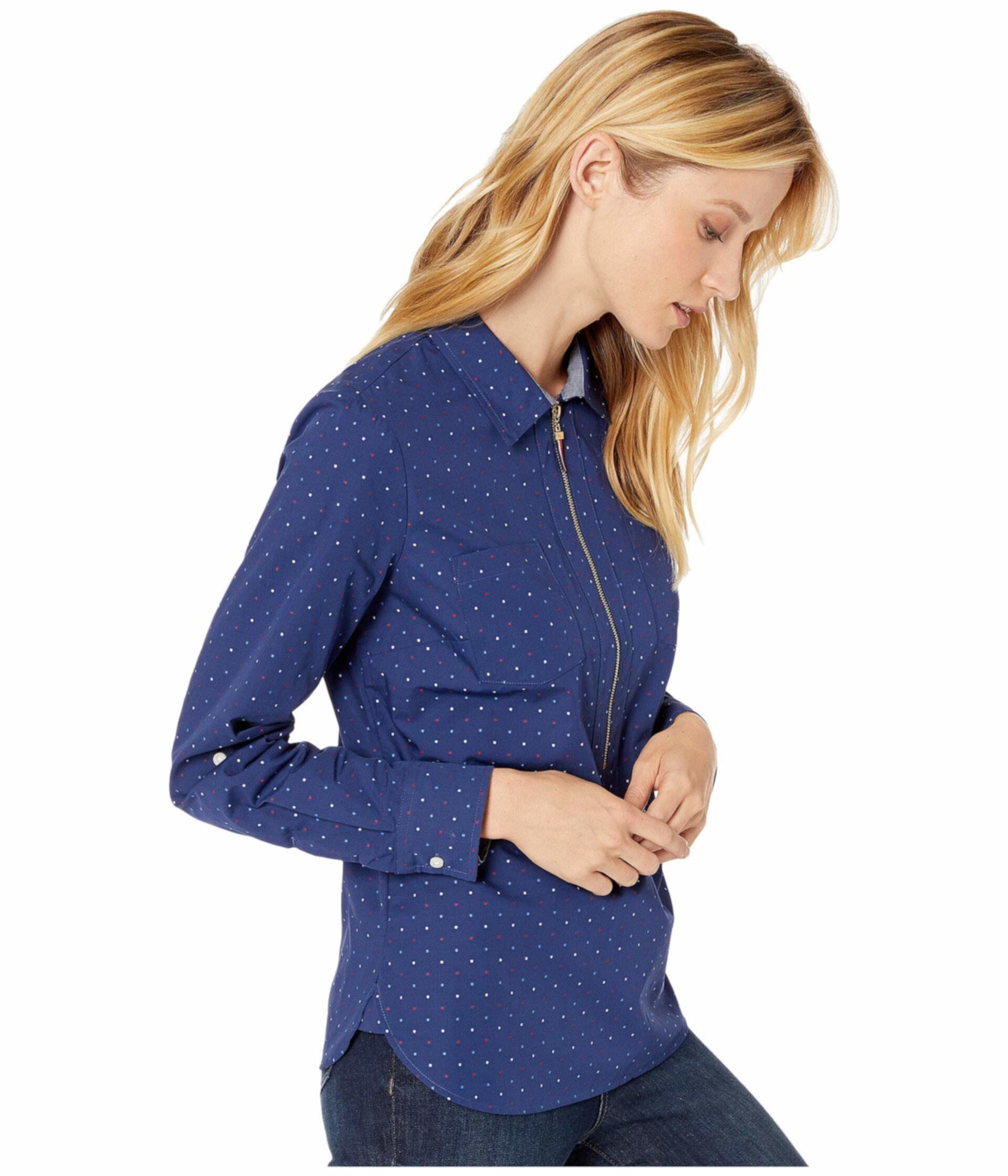Popover Blouse - Американа Дот Tommy Hilfiger
