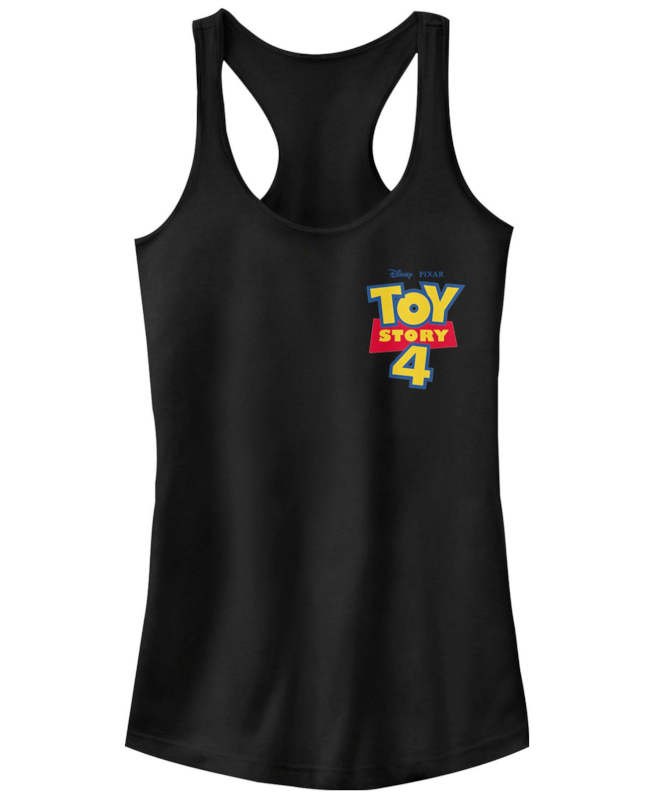 Майка с логотипом на груди Disney Pixar Juniors 'Toy Story 4' Ideal Racerback FIFTH SUN
